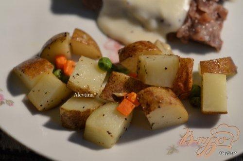 Картофельный гарнир в фольге