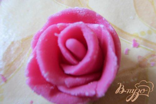 Бутоны роз из мастики