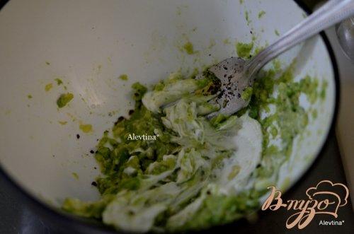 Семга с авокадо дип