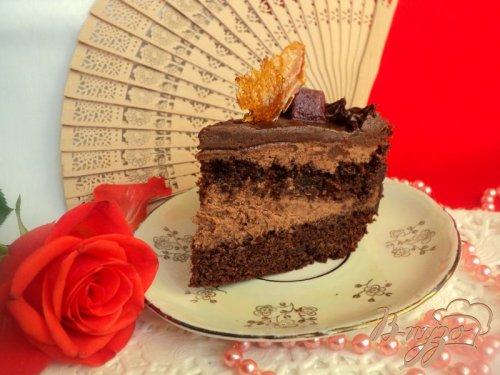 Испанский шоколадный торт (Tarta de Chokolata)
