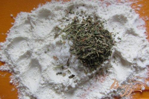 Толстолобик жареный с прованскими травами