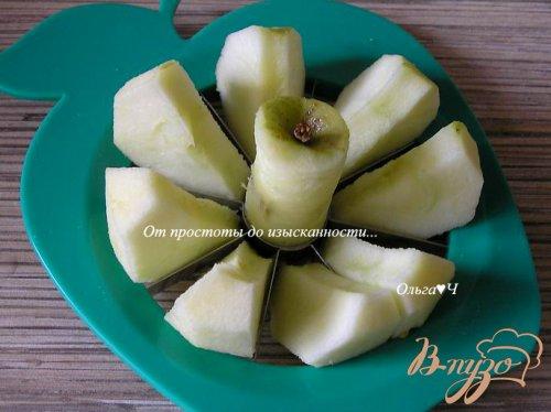Шоколадный пирог с яблоками (в мультиварке)