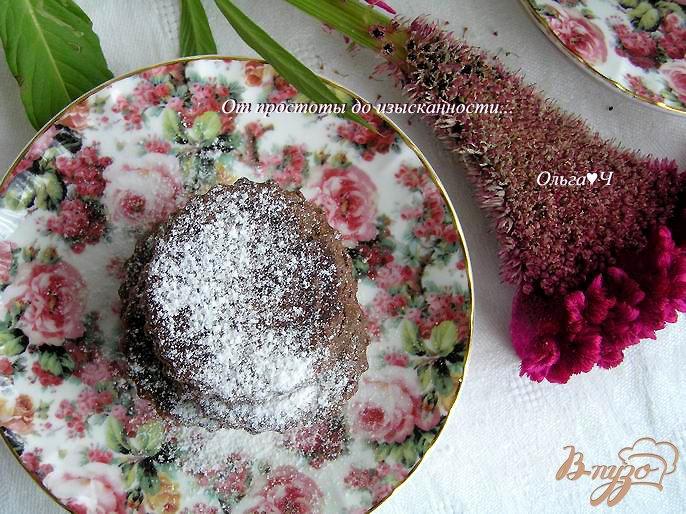 Фото приготовление рецепта: Шоколадные валлийские кейки шаг №7