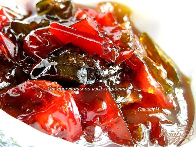 Фото приготовление рецепта: Конфитюр из перцев (в мультиварке) шаг №6