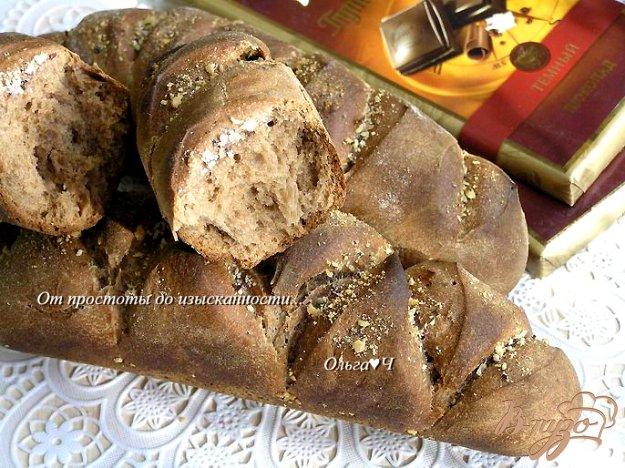 Рецепт Багеты с шоколадом и миндалем
