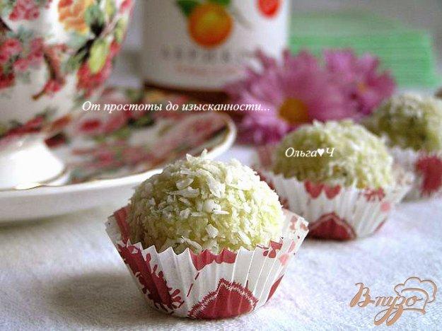 Рецепт Низкокалорийные конфеты с абрикосовым конфитюром
