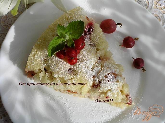 пирог с крыжовником в мультиварке рецепты