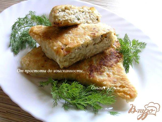 Рецепт Балканские пирожки с индейкой