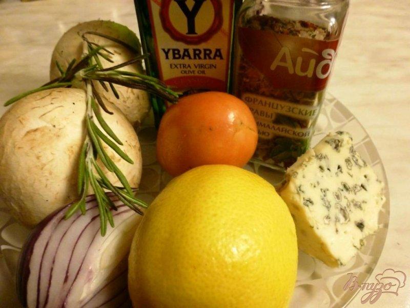 Фото приготовление рецепта: Карпаччо из шампиньонов шаг №1
