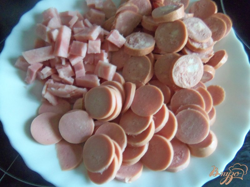 Фото приготовление рецепта: Суп фасолевый с солеными огурцами шаг №3