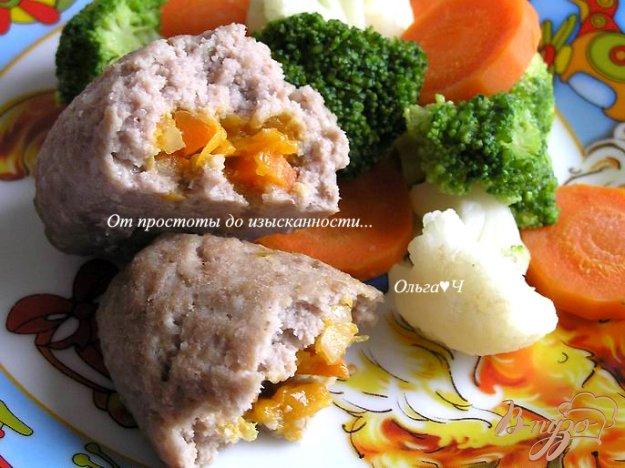 Рецепт Зразы с морковно-тыквенной начинкой (на парУ)