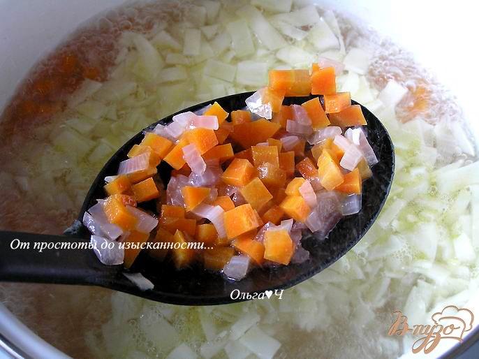 Фото приготовление рецепта: Щи с яблоками шаг №3