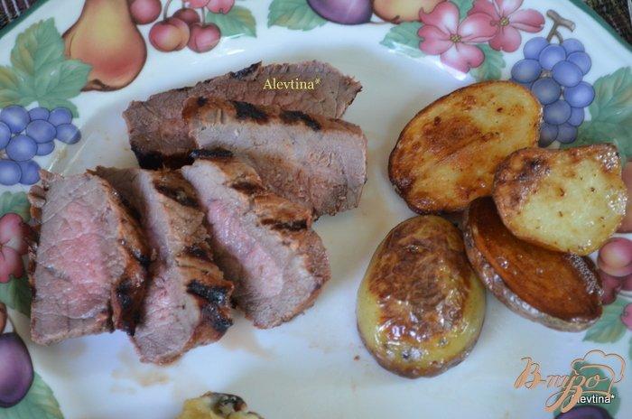 Фото приготовление рецепта: Говядина в маринаде