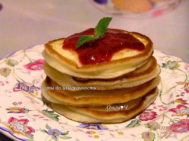 Рецепт Йогуртовые панкейки