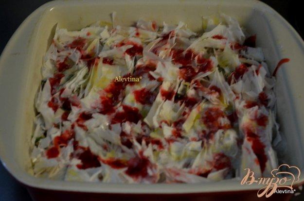 фото рецепта: Пирог  с индейкой и грибами