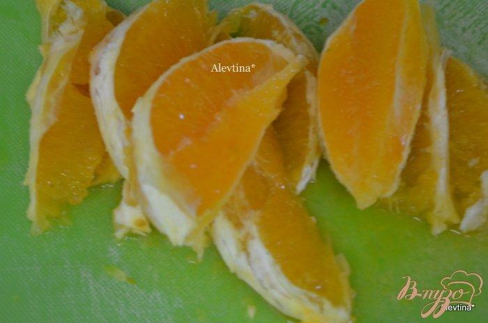 Фото приготовление рецепта: Говядина с апельсиновыми дольками шаг №2