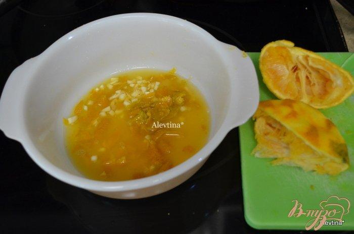 Фото приготовление рецепта: Говядина с апельсиновыми дольками шаг №1