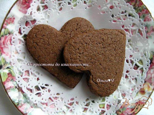 Рецепт Печенье на шоколадном масле с корицей и апельсиновой цедрой