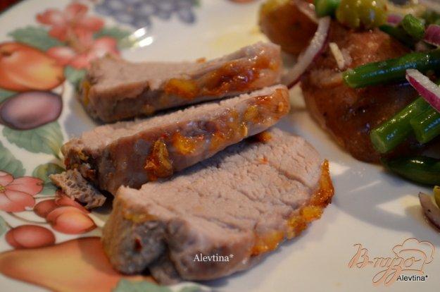 фото рецепта: Свинина в глазури