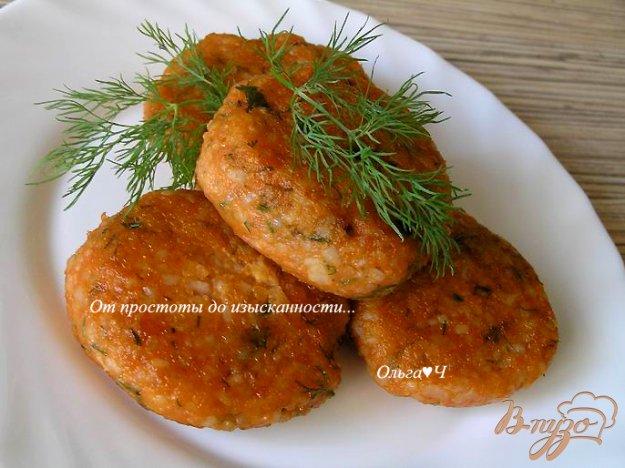 фото рецепта: Томатно-рисовые котлетки