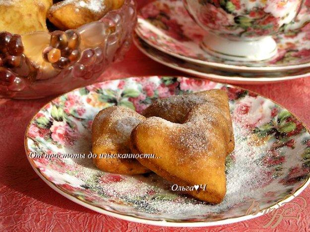 Рецепт Творожные пончики с дынно-лимонным курдом