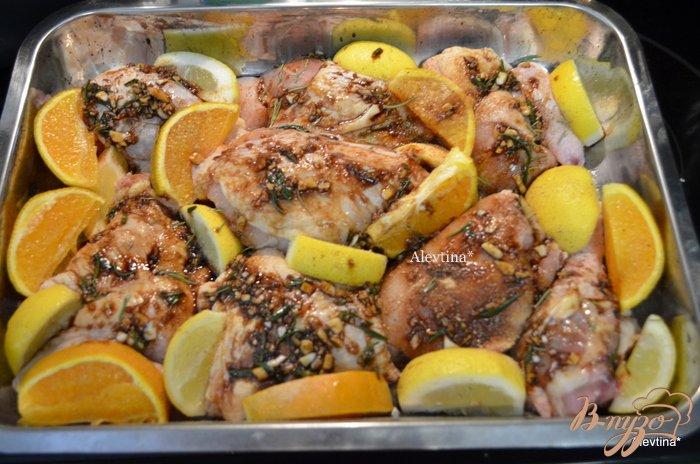 Фото приготовление рецепта: Курица в цитрусовом маринаде шаг №2
