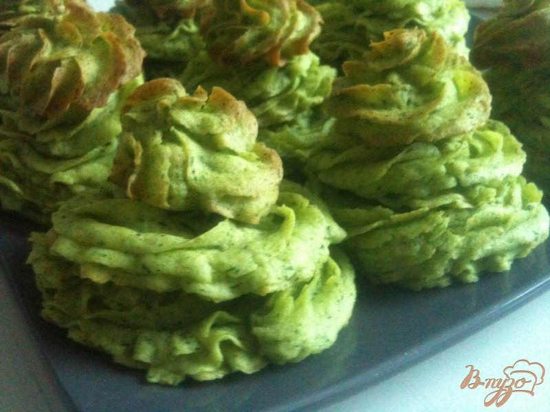 Фото приготовление рецепта: Картофельные елочки шаг №5
