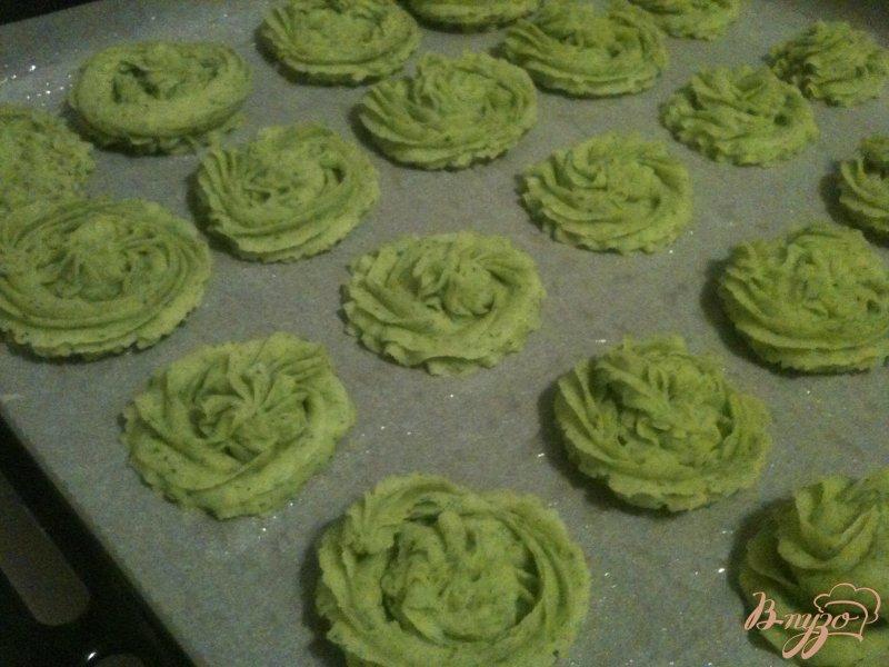 Фото приготовление рецепта: Картофельные елочки шаг №4