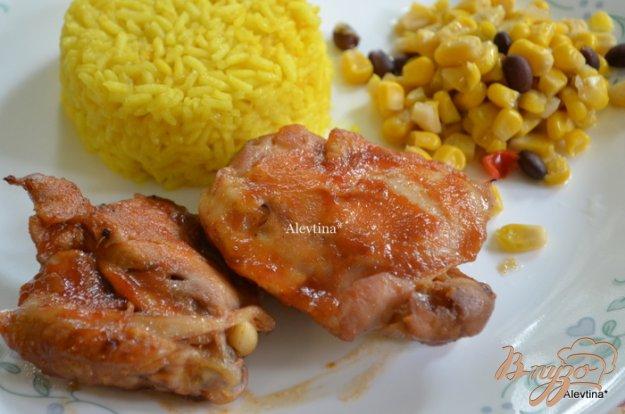Рецепт Куриные бедрышки в апельсиновой глазури