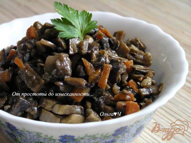 Рецепт Грибная закуска с белым вином