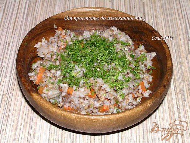 Рецепт Гречка с капустой