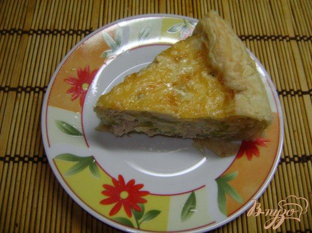 Рецепт Киш с курицей и перцем