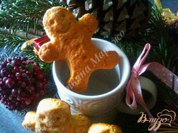Рецепт Творожно-медовые пряные коржики