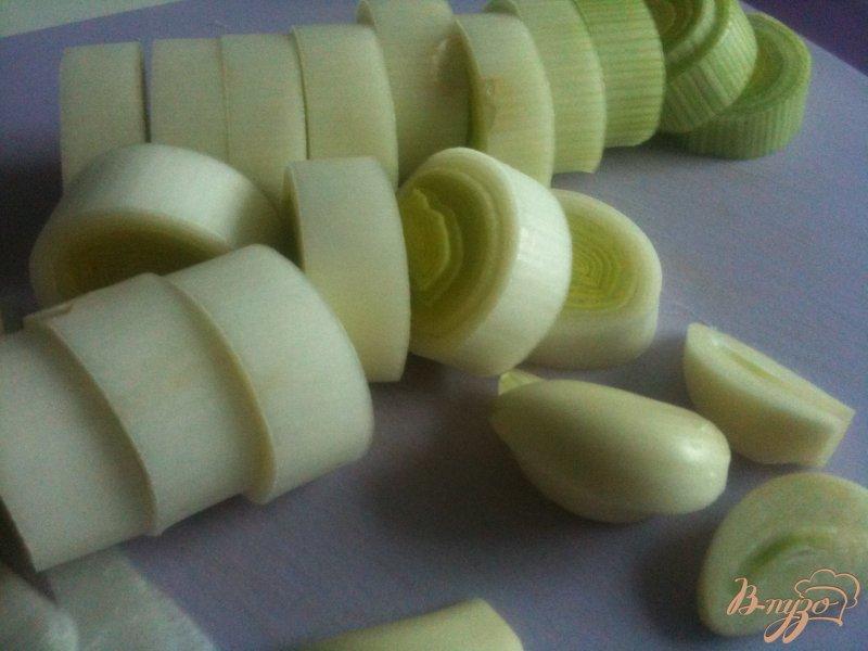 Фото приготовление рецепта: Тыквенный суп с моцареллой шаг №1