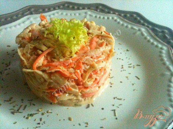 Рецепт Салат с морковью и топинамбуром