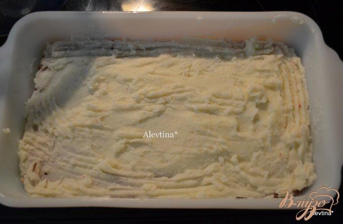 Фото приготовление рецепта: Митлоф с картофельным пюре шаг №4
