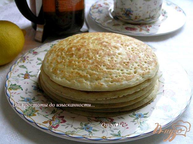 Рецепт Блины на сыворотке (без яиц)
