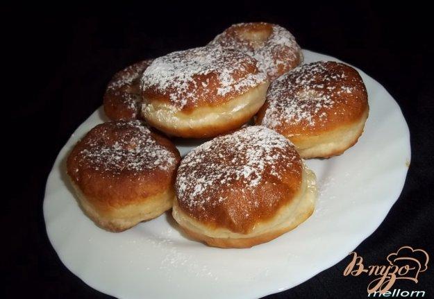 Рецепт Пончики медовые на сметане