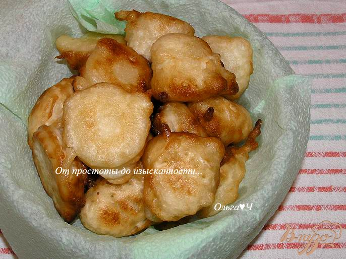 Фото приготовление рецепта: Постные пончики шаг №5