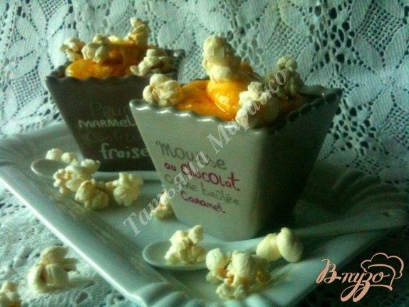 Рецепт Десертный мусс из кукурузы