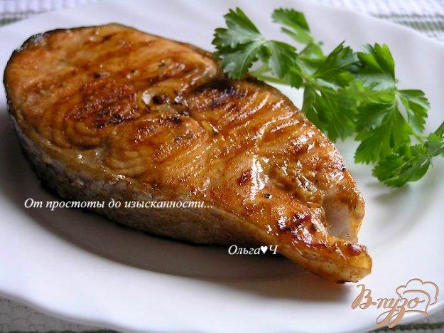 Рецепт Лосось-гриль в соевом маринаде