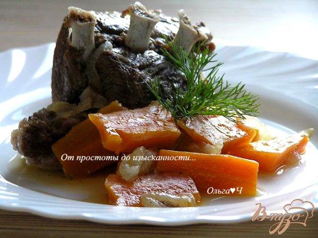 фото рецепта: Баранина с морковью в мультиварке