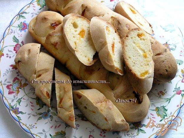 Рецепт Багеты с курагой