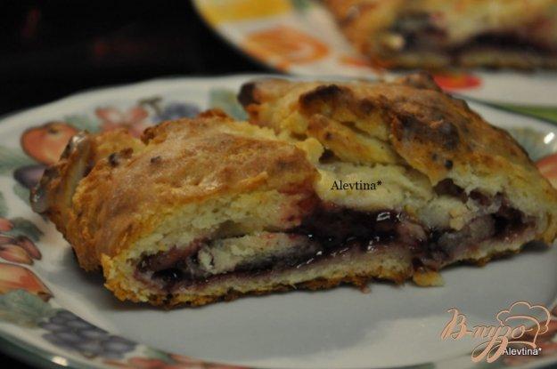 Рецепт Десертный хлеб к завтраку с начинкой