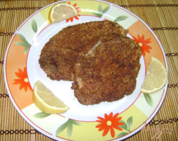 фото рецепта: Шницель со свининой