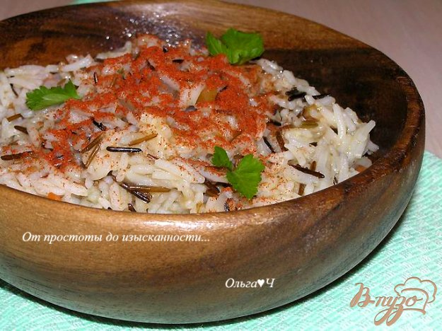 Рецепт Пряный рис с овощами