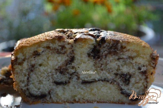фото рецепта: Мраморный кекс