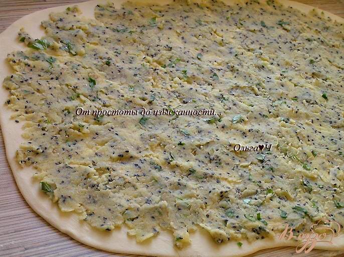 Фото приготовление рецепта: Картофельные рулеты с кунжутом шаг №6