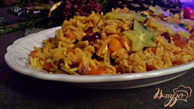Рецепт Пряный рисовый гарнир с сухофруктами