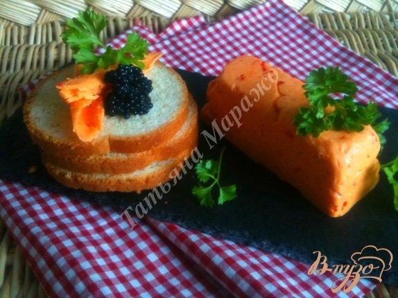 Рецепт Бутербродное масло со сладким перцем